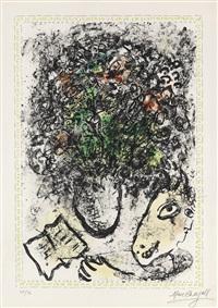 fleurs d'art by marc chagall