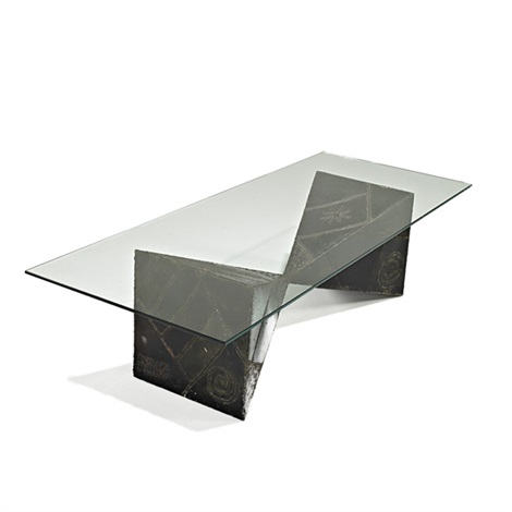 sculptural coffee table by paul evans