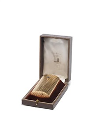 cigarette case by alfred dunhill
