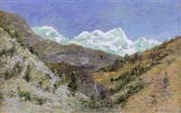 berglandschaft by hermann von le suire