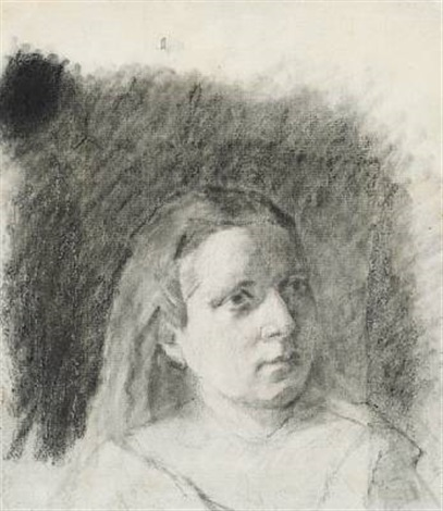 portrait de jeune fille by paul gauguin