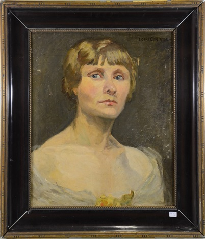 portrait de dame by lovis corinth