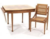 collezione erasmo - tavolo e sedia (2 works) by roberto gabetti