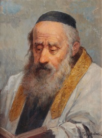 a rabbi figure by tully filmus
