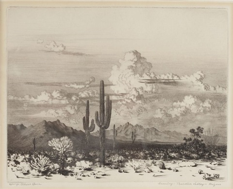 paradise valley, az by george elbert burr