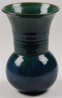 a vase by linnware