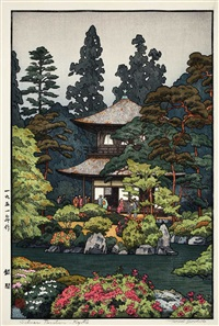 ginkaku by toshi yoshida