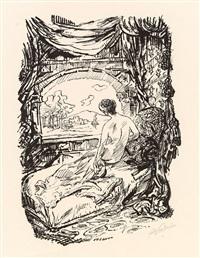 mappe iii (drei lithografien) by alfred kubin