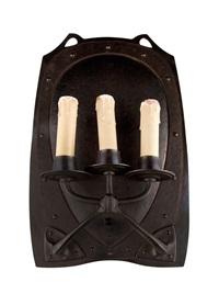 wandlampe by friedrich adler