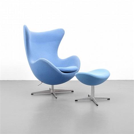 Arne Jacobsen Egg Chair Ottoman By Arne Jacobsen On Artnet