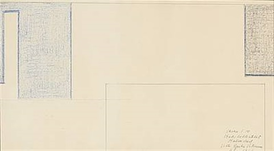 composition, stadsbiblioteket, halmstad. skala 1:10 by vilhelm bjerke-petersen