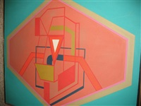 geometric composition by william quinn