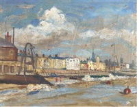 harwich, essex (+ 2 others; 3 works) by jean alexander