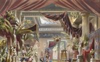 an elaborate roman atrium by christian jank