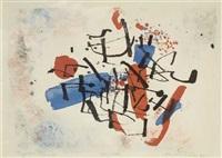 abstrakte komposition by arnold fiedler