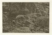cima del mar (detail) by franz gertsch