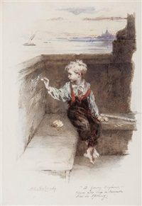 a young beginner by augustus edwin mulready