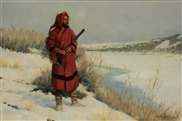 fontenelle at the powder by harvey william (bud) johnson