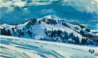 schweizer winterlandschaft by walter jacob