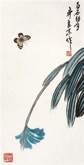 草虫花卉 by qi liangmo