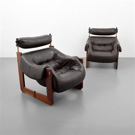 Exceptionnel Pair Of Percival Lafer Chairs By Percival Lafer