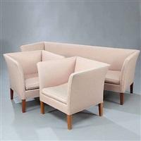 living room suite (set of 3) by kaj gottlob