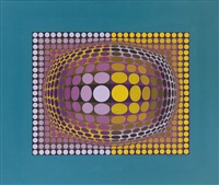 o v a l by victor vasarely