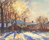winter sunshine (+ 22 others; 23 works) by jean alexander