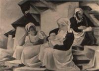die drei schwestern by rudolf hengstenberg