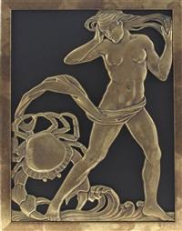zodiac panel by c.a. llewellyn- roberts