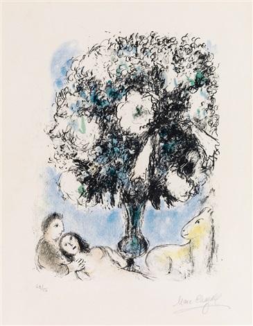 La petit bouquet de lys by marc chagall on artnet for Bouquet de lys