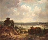 paisaje by vicente camaron y torra