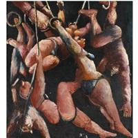 acrobats by lev ilych tabenkin
