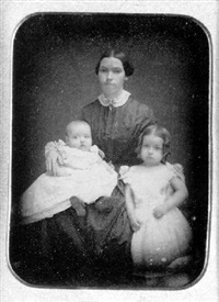 mother and two children by jeremiah gurney