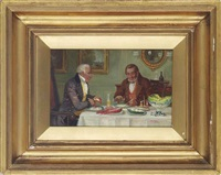 lobster for dinner by george fox