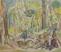 tropischer wald by alfred hermann helberger