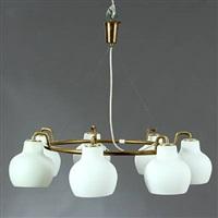 christiansborg chandelier by vilhelm lauritzen