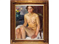 desnudo femenino by joseph mompou