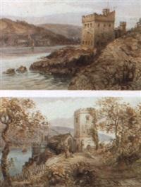 dartmouth castle by alfred leyman