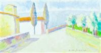 paesaggio toscano by dino migliorini