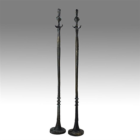 Floor lamp bases pair by diego giacometti on artnet floor lamp bases pair by diego giacometti mozeypictures Image collections