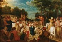john the baptist preaching by jan pynas