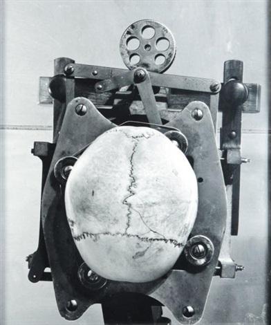 schadel machine skull machine by dieter appelt