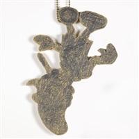 medallion (pinocchio) by nayland blake