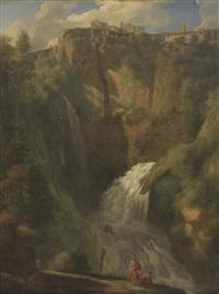 la cascata di tivoli by gaspard dughet