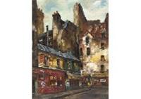 rosiers street (paris) by hyoichi yamamoto