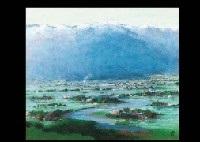 landscape of azumino by takashi asahina