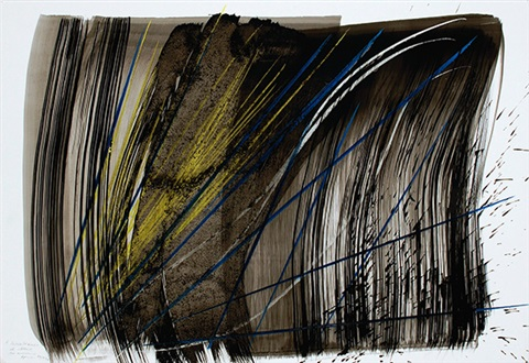 p 1972 1 by hans hartung