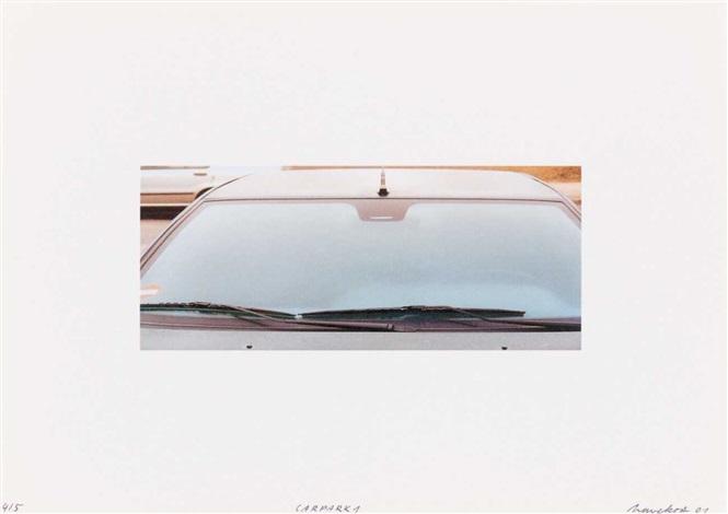 cyperdruck 1druck 2flexibelrobotroncarparkregal12 uhr14 uhrholz 18 works by eberhard havekost