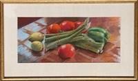 vegetable still life by susan gerstein